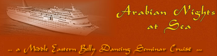belly dance at sea